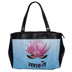 Namaste   Lotus Office Handbags
