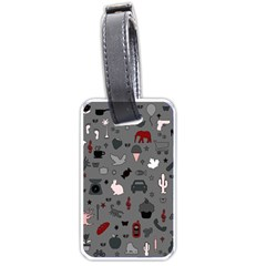 Rebus Luggage Tags (one Side)