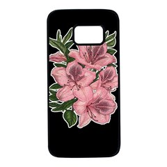 Orchid Samsung Galaxy S7 Black Seamless Case