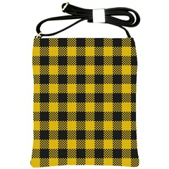 Plaid Pattern Shoulder Sling Bags