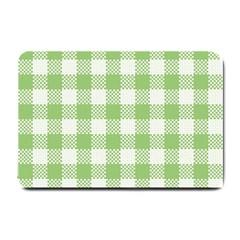 Plaid Pattern Small Doormat