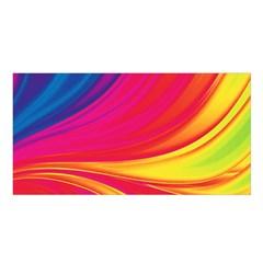 Colors Satin Shawl