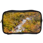 Colored Forest Landscape Scene, Patagonia   Argentina Toiletries Bags 2-Side Back