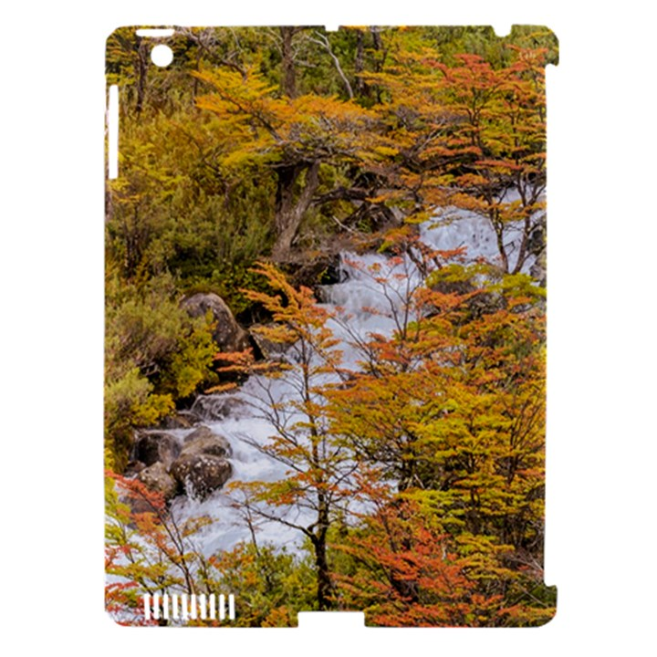 Colored Forest Landscape Scene, Patagonia   Argentina Apple iPad 3/4 Hardshell Case (Compatible with Smart Cover)