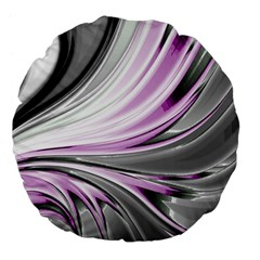 Colors Large 18  Premium Flano Round Cushions
