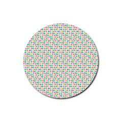 42309602 Rubber Round Coaster (4 pack)