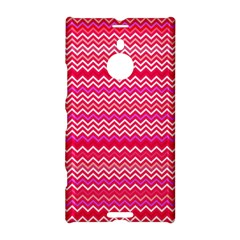Valentine Pink and Red Wavy Chevron ZigZag Pattern Nokia Lumia 1520