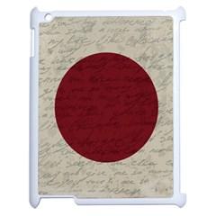 Vintage Flag   Japan Apple Ipad 2 Case (white)