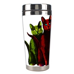 Cats Stainless Steel Travel Tumblers