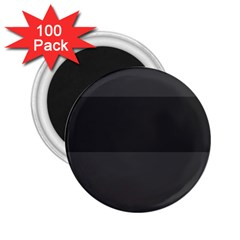 Gray And Black Thick Stripes 2 25  Magnets (100 Pack)