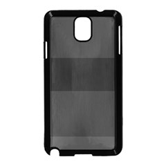 Gray And Black Thick Stripes Samsung Galaxy Note 3 Neo Hardshell Case (black)