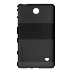 Gray And Black Thick Stripes Samsung Galaxy Tab 4 (7 ) Hardshell Case