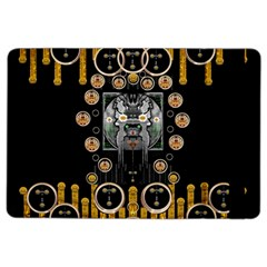 Foxy Panda Lady With Bat And Hat In The Forest iPad Air 2 Flip