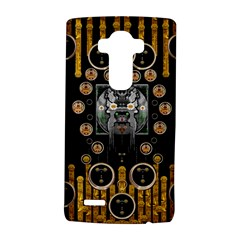 Foxy Panda Lady With Bat And Hat In The Forest Lg G4 Hardshell Case