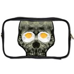 Skull With Fried Egg Eyes Toiletries Bags 2-Side Front