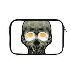 Skull With Fried Egg Eyes Apple Macbook Pro 13  Zipper Case