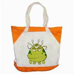 The Most Ugly Alien Ever Accent Tote Bag