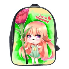 Happy Mother s Day Furry Girl School Bags(large)