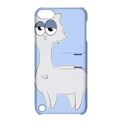 Grumpy Persian Cat Llama Apple Ipod Touch 5 Hardshell Case With Stand