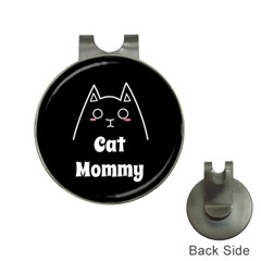 Love My Cat Mommy Hat Clips With Golf Markers