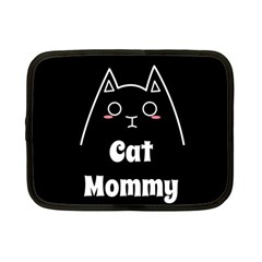 Love My Cat Mommy Netbook Case (small)