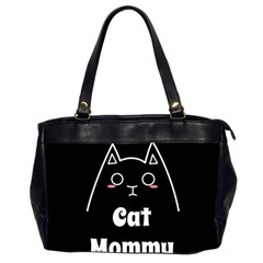 Love My Cat Mommy Office Handbags (2 Sides)