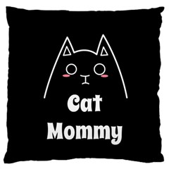 Love My Cat Mommy Standard Flano Cushion Case (one Side)