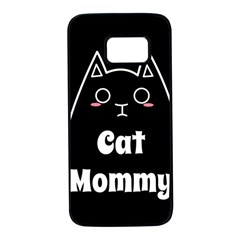 Love My Cat Mommy Samsung Galaxy S7 Black Seamless Case