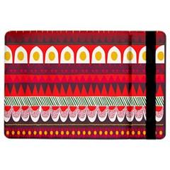 Fabric Aztec Red Line Polka Circle Wave Chevron Star Ipad Air 2 Flip