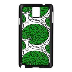 Leaf Green Samsung Galaxy Note 3 N9005 Case (black)