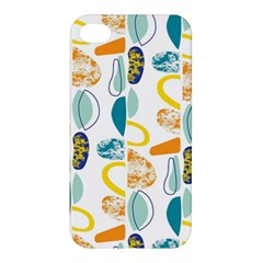 Pebbles Texture Mid Century Apple Iphone 4/4s Premium Hardshell Case