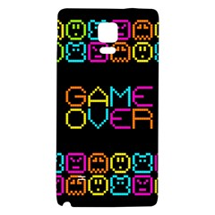 Game Face Mask Sign Galaxy Note 4 Back Case