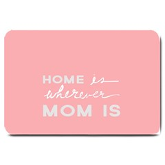 Home Love Mom Sexy Pink Large Doormat