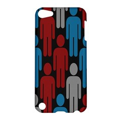 Human Man People Red Blue Grey Black Apple Ipod Touch 5 Hardshell Case