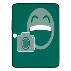 Laughs Funny Photo Contest Smile Face Mask Samsung Galaxy Tab 3 (10 1 ) P5200 Hardshell Case