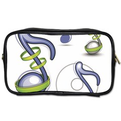 Notes Musical Elements Toiletries Bags