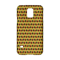 Points Cells Paint Texture Plaid Triangle Polka Samsung Galaxy S5 Hardshell Case