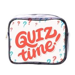 Question Mark Quiz Time Mini Toiletries Bags