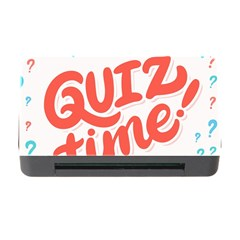 Question Mark Quiz Time Memory Card Reader With Cf