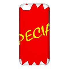 Special Sale Spot Red Yellow Polka Apple Iphone 5c Hardshell Case