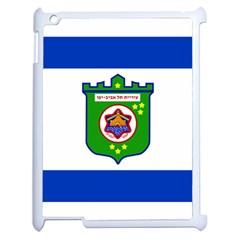 Flag Of Tel Aviv  Apple Ipad 2 Case (white)