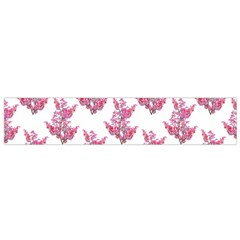 Colorful Cute Floral Design Pattern Flano Scarf (small)