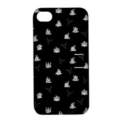 Cactus Pattern Apple Iphone 4/4s Hardshell Case With Stand