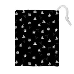 Cactus Pattern Drawstring Pouches (extra Large)