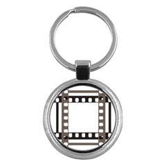 Frame Decorative Movie Cinema Key Chains (round)