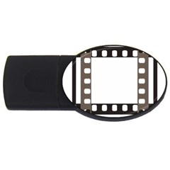 Frame Decorative Movie Cinema Usb Flash Drive Oval (4 Gb)