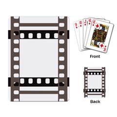 Frame Decorative Movie Cinema Playing Card