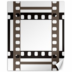 Frame Decorative Movie Cinema Canvas 16  X 20