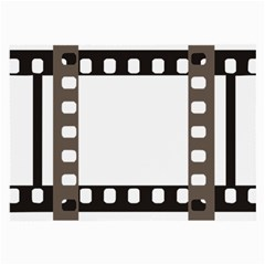 Frame Decorative Movie Cinema Large Glasses Cloth