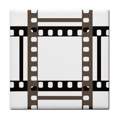 Frame Decorative Movie Cinema Face Towel